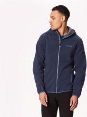 Blauwe Regatta Arec II Softshell Jacket Men, navy/seal grey Maat M