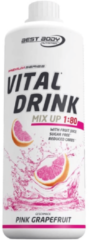 Best Body Nutrition Low Carb Vital Drink 1000ml Pink Grapefruit