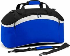 Witte Bagbase Teamwear sporttas, Kleur Bright Royal/ Black/ White