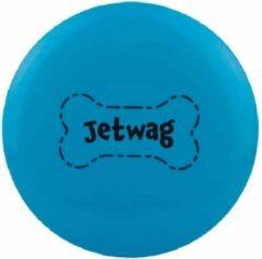Waboba Frisbee Jetwas 20 X 20 X 1,3 Cm Rubber Blauw