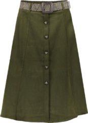 Groene Geisha 40002700 jurk Dames Rok Maat S