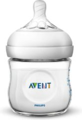 Witte Philips Avent Natural babyfles – SCF030/17 babyfles (0m+) voor langzame toevoer