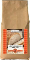 Bakers@home All-in broodmix - lichtbruin (2kg)