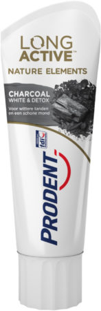 Afbeelding van Prodent Tandpasta Long Active Nature Elements Charcoal 75 ml