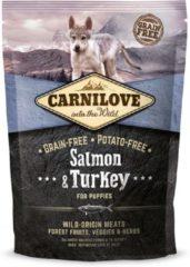 Brit Carnilove Hondenvoer Zalm & Kalkoen Puppy Inhoud - 1,5 kg