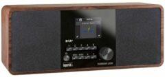 Imperial DABMAN i200 Tafelradio met internetradio DAB+, FM AUX, USB, Internetradio, DLNA, LAN Hout