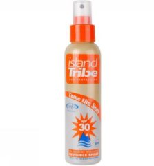Transparante Island Tribe IslandTribe SPF 30 Invisible - 125 ml - clear gel spray oxybenzone vrij.