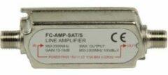 Zilveren Nedis Fixapart FC-AMP-SAT/S TV signaal versterker