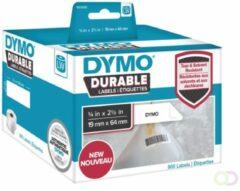 Dymo duurzame etiketten LabelWriter ft 19 x 64 mm, 900 etiketten