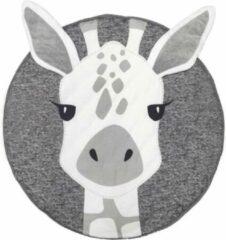 Grijze RS&K Speelkleed Giraffe- speelkleed voor baby's -Kruipkleed- Kraamcadeau- Babyshower- Baby Antislip
