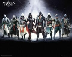 GB eye GBeye Assassins Creed Characters Poster 50x40cm