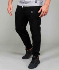 Marrald Fleece Sweatpants | Zwart - M heren lange trainings sportbroek