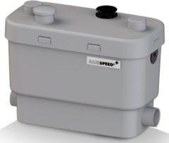 Sanibroyeur Sanispeed vuilwaterpomp voor keuken douche bad bidet en wastafel opvoerhoogte 7m of horizontaal 70m wit 005200