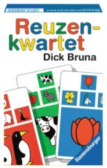 Ravensburger Dick Bruna Reuzenkwartet kinderspel