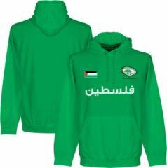 Zwarte Retake Palestina Football Hooded Sweater - L
