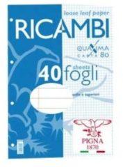 RICAMBI MAXI QUAXIMA 80gr 40 FF C RIGHE CON MARGINE