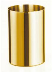 Douche Concurrent Tandenborstelhouder Allibert Coperblink 6.4x9.5cm RVS Glanzend Goud
