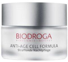 Biodroga Anti-Aging Pflege Anti-Age Cell Formula Straffende Nachtpflege 50 ml
