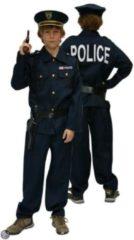 Luchas Promotions Politie jongen met kepie - Maat 140