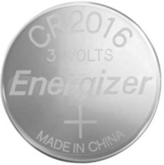 CR2016 Knoopcel Lithium 3 V 90 mAh Energizer CR2016 1 stuk(s)