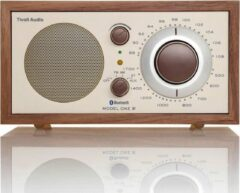 Tivoli Audio - Classic Model One BT - FM / AM radio met Bluetooth - Walnoot / Beige