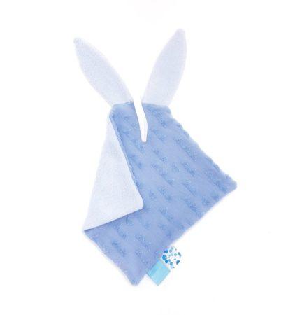 Afbeelding van MijnNami Speendoekje Konijn - Blauw - Handgemaakt