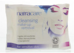 Natracare Make up schoonmaakdoekjes bio 20 Stuks