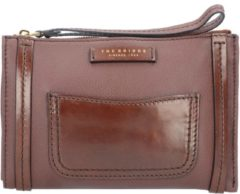 Saturnia Kulturbeutel Leder 23 cm The Bridge marrone tb