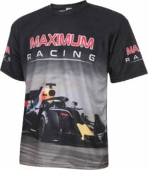 Zwarte Holland Formule 1 Racing Shirt Kids-Senior-XL