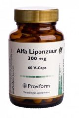 Proviform Alfa Liponzuur 300mg Tabletten 60st