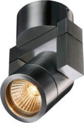 Artdelight - Opbouwspot Single - Aluminium - GU10 - IP54 - Dimbaar > spots | spotjes | spotjes plafondlamp | spots verlichting | opbouwspot mat staal | wandlamp mat staal | plafondlamp mat staal