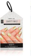 Nagelstickers Graffiti Nails Kit Soko Ready (25 uds)