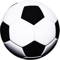 Witte Moodadventures | Muismatten | Muismat Rond Voetbal | Rubber | 20x20cm.