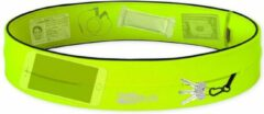 Flipbelt Classic Geel - Running belt - Hardlopen - L