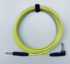 Tasker T33 Yellow 9m 6.3mm TS jack gitaarkabel