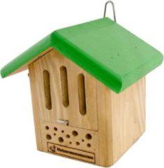 Natuurmonumenten Insectenhuisje Voor Vlinders En Bijen - Nestkast - 18x16x18 cm