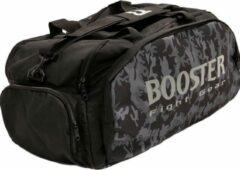 Booster Rugtas Sporttas B-Force Duffle Bag Sportsbag Zwart Camo Large