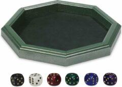 Dal Negro dobbelbak 28,5 x 28,5 cm groen 7-delig