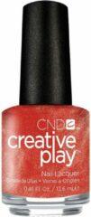 Oranje CND™ Creative Play™ CND Creative Play - See u in Sienna #30 - Nagellak