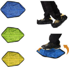 Meco 1Pair Reusable Automatic Overshoes Fast Shoe Covers Sock Auto-Package Hand-Free