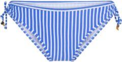 LingaDore - Bossa Bikini Strik - Slip - maat 36 - Blauw Wit