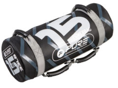 Grijze Pure2Improve Powerbag, 15 kg