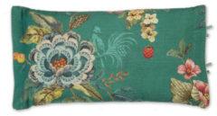 Groene Pip Studio sierkussen Poppy Stitch (35x60 cm)