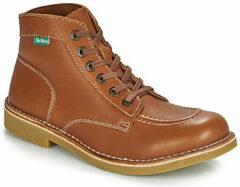 Bruine Boots en enkellaarsjes Kickstoner by Kickers
