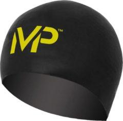 Aqua Sphere Michael Phelps Race Cap - Badmuts - L - Zwart/Geel