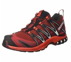 Salomon XA Pro 3D Men Herren Speed Hiking-/Trail Running Schuh Größe UK 7,5 red dahlia/fiery red/black