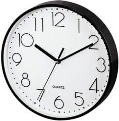 Wandklok Quarz Hama 00123165 220 mm x 35 mm Zwart Slepend uurwerk (geluidsloos)