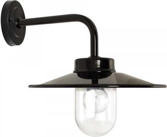 Afbeelding van Zwarte Buiten Wandlamp Vita - retro - KS Verlichting buiten