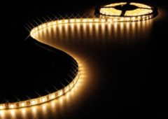 Witte Velleman Flexibele Led Strip - Warm Wit 3500K - 150 Leds - 5M - 12V