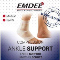 Emdee Elastische ondersteuning enkel huidkleur Maat S 1 Stuks
